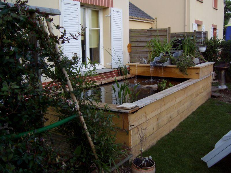 Un bassin d 39 agr ment bacqueville en caux 76730 jardinier paysagiste seine maritime bohin - Bassin naturel jardin rouen ...