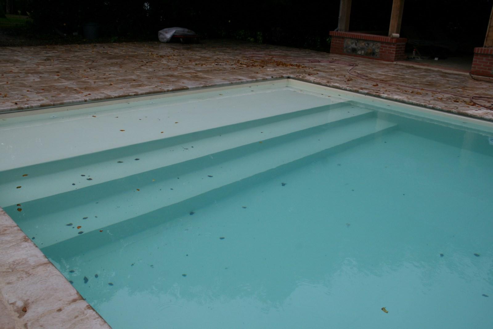 Populaire Rénovation de piscine traditionnelle sur Dardilly - LES JARDINS DE  HZ64